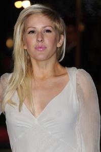 Ellie Goulding shows nipples in see-through top at Les Mis premiere.