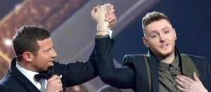 James Arthur is told he is the X Factor winner 2012
