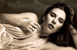 Scarlett Johansson as Maggie in Cat On A Hot Tin Roof