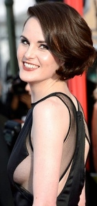 Michelle Dockery Flashes Sideboob at SAG Awards