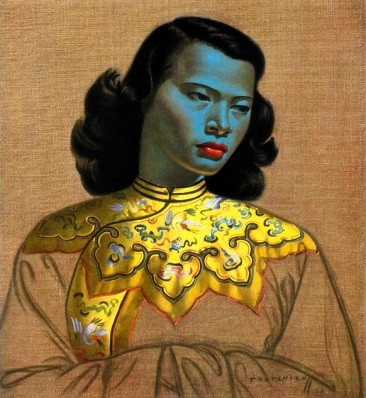 The Chinese Girl by Vladimir Tretchikoff - The World's Most Reproduced Painting. Artwork. Kitsch.