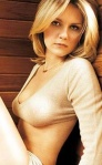A Young Kirsten Dunst in a tight top