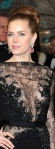 Amy Adams in black and nude lace dress at BAFTAs. Junebug and The Master actress. Wearing Elle Saab.