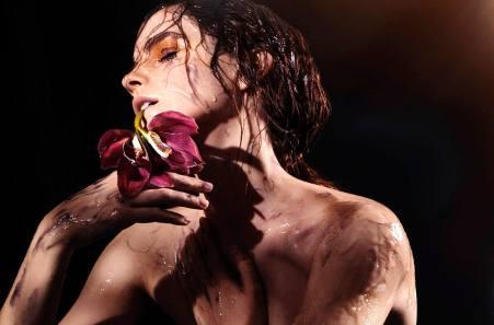 Emma Watson in wet look nude photo
