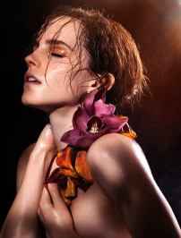 Emma Watson topless in Natural Beauty book