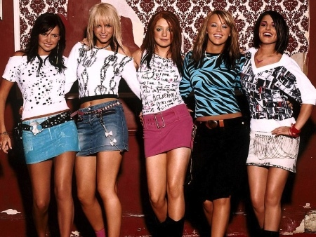 Girls Aloud - the beginning in 2002 on Popstars- The Rivals