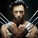 Hugh Jackman as Wolverine in X-Men. Shot shows long claws.
