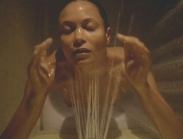 Thandie Newton nude in shower in Rogue