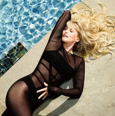 Christie Brinkley looks super hot in see-through black swimsuit at age of 59