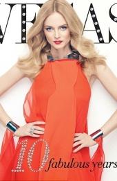 Heather Graham on cover of Vegas magazine