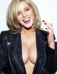 Helen Flanagan - big boobs and cleavage. FHM's Sexiest UK Woman 2013