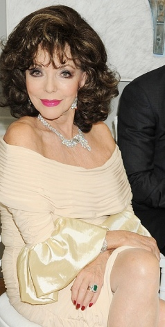 Joan Collins in 2012. Still looking great at 79-years old.