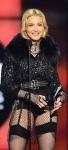 Madonna in black stockings and garter at Billboard Awards