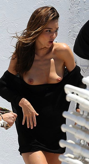 Would not miranda kerr wardrobe malfunction nude for that