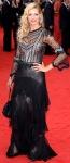Tess Daly in see-through top at 2013 BAFTAs