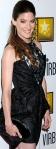 Jennifer Carpenter of Dexter in sexy black dress