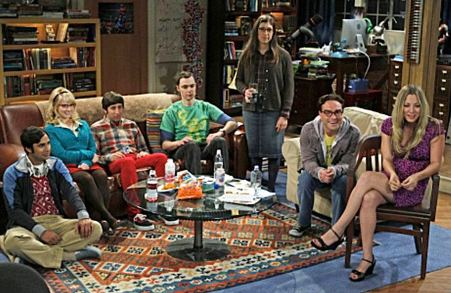The Big Bang Theory - geeks and hot girls