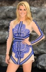 Ashley Roberts shows off legs at Lone Ranger premiere