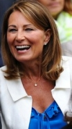 Carole Middleton enjoying herself at Wimbledon