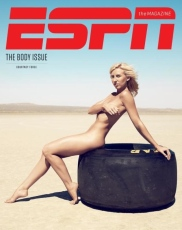 Courtney Force naked in ESPN's Body Issue