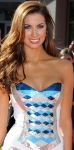 Katherine Webb shows off cleavage