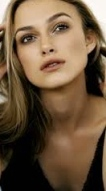 Keira Knightley looking hot with blonde hair