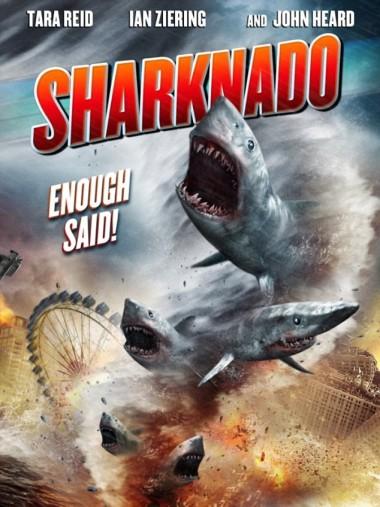 Sharknado movie poster - worst movie ever made?