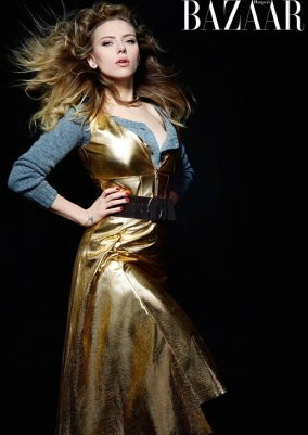 Scarlett Johansson declared modern Marilyn Monroe in Harper's Bazaar photos