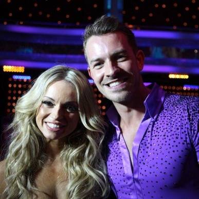 Ashley Taylor Dawson and Ola Jordan - new Strictly Come Dancing pairing