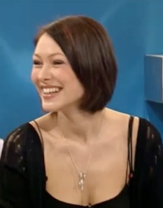 Emma Willis - nice smile and cleavage - new The Voice presenter