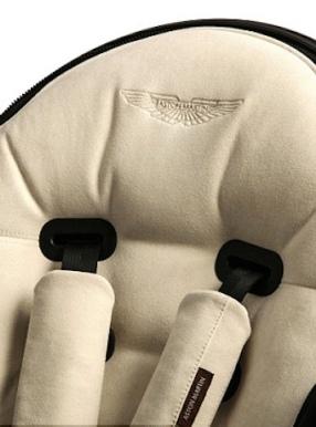 Aston Martin Surf 007, luxury children's buggy.