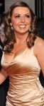 Carol Vorderman channels a Hollywood look in gold gown at Pride of Britain awards 2013