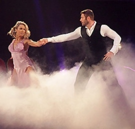 Ben and Kristina at Strictly Blackpool 2013