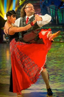 Dave Myers and Karen Hauer - Hairy Biker leaves Strictly Come Dancing