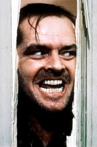 Here's Johnny - scariest movie scene of all-time from The Shining starring Jack Nicholson as Jack Torrance