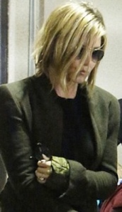 Jennifer Aniston - new Rebel Cut hair style