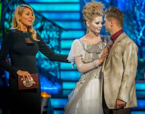 Rachel Riley voted off Strictly Come Dancing 2013