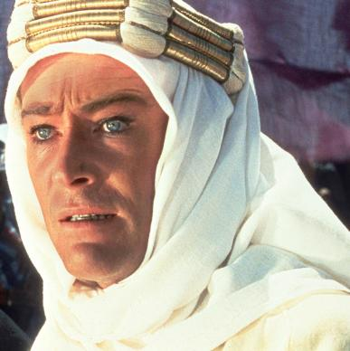 Peter O'Toole in Lawrence of Arabia. Peter O'Toole Dies, 1932-2013