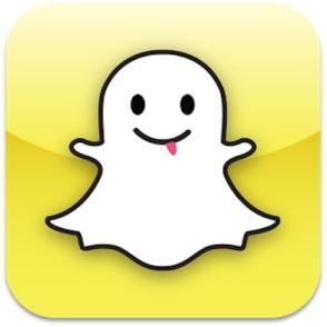 Snapchat logo- sexy selfies app
