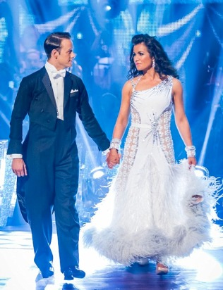 Susanna Reid in Strictly Come Dancing final 2013