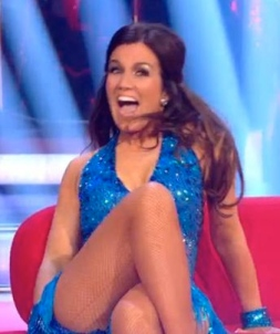 Susanna Reid 2013 Strictly look