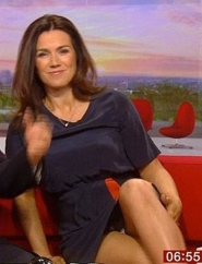 Susanna Reid - Strictly dancer and BBC newsreader flashes her knickers on BBC morning news