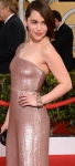 Emilia Clarke from Game of Thrones shows off body in form-fitting gown at SAGs