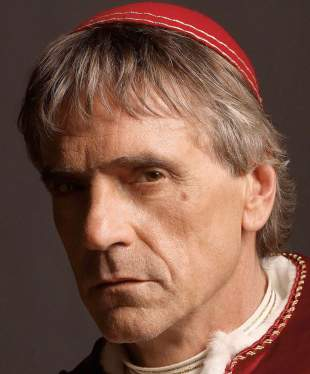 Jeremy Irons to play Alfred in Batman Superman - shown here in The Borgias