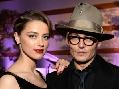 Johnny Depp and Amber Heard - first official engagement