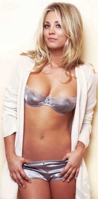 Kaley cuoco nipples