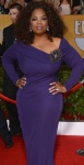 Oprah Winfrey shows off plenty of curves at SAGs