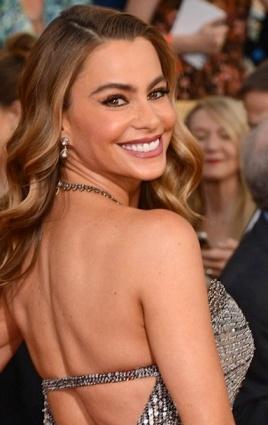 Sofia Vergara shows off bust at 2014 SAGs