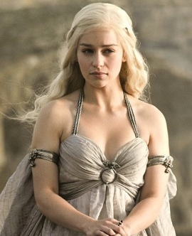Emelia as Daenerys Targaryen in Game of Thrones