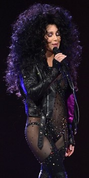 67 Year Old Cher wearing see-through bodysuit during Dressed To Kill Tour 2014
